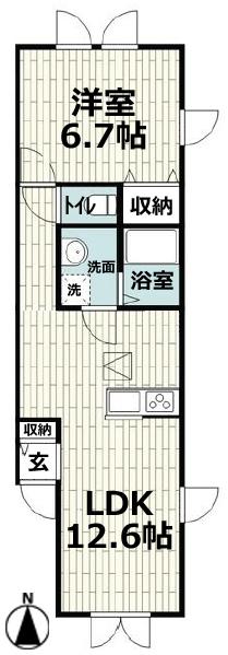 ■物件番号4772 海まで徒歩3分のペット可輸入住宅!1LDKタイプ!パークでサーフィン!8万円!
