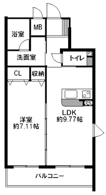 ■物件番号4773 駅も海も歩ける築浅キレイなオートロック付マンション入荷!2階カド!9.8万円!