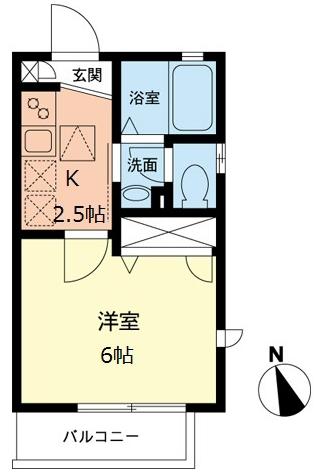 ■物件番号4726 辻堂海側!駅6分!築浅1K!2階カド部屋!都市ガス!2口ガスコンロ!6.5万円!