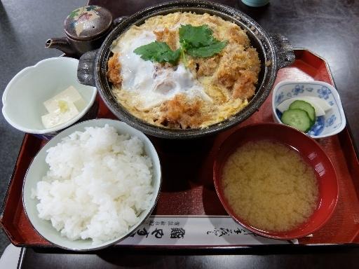 ロースかつ鍋定食