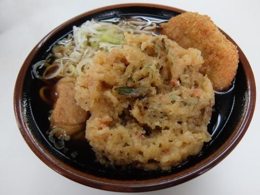 天ぷら・コロッケそば