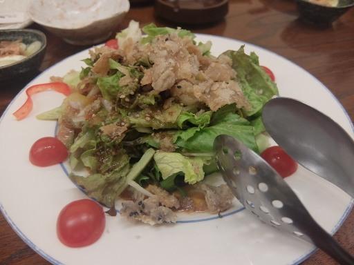 鶏皮サラダ