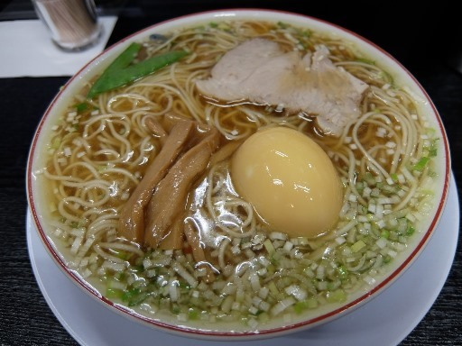 中華そば(煮卵入)