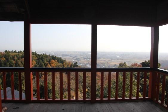 境内展望台からの眺望