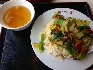 0213カッパ食堂@肉チャーハン