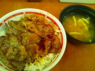 東京チカラメシ@焼き牛丼