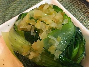 大豆家@チンゲン菜の塩ダレ