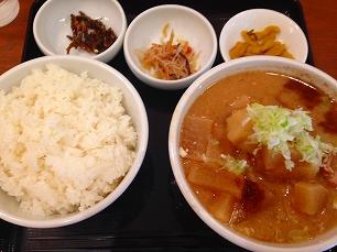 0725吉田豚汁店@豚汁定食