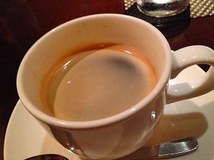0726IL POZZO HORII@コーヒー