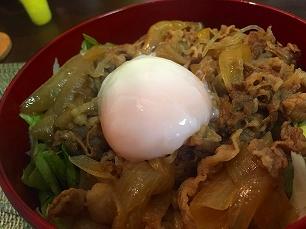 0826大豆家@牛丼