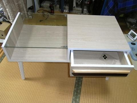 新プラモテーブル完成