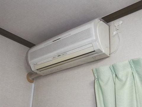 エアコン、壊れた。