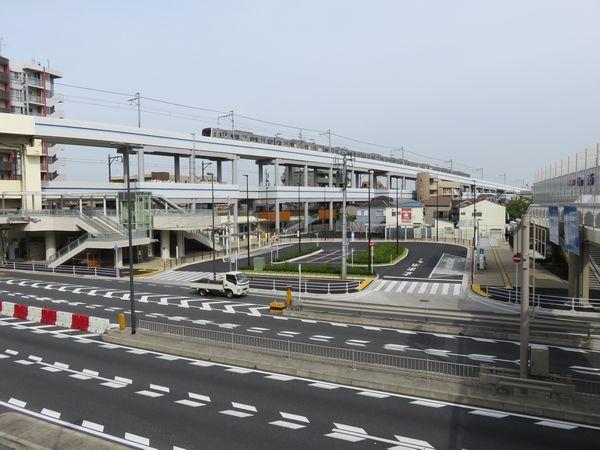 今年3月に完成した京急蒲田駅東口駅前広場