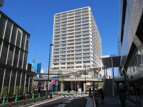 完成した京急蒲田駅西口駅前広場