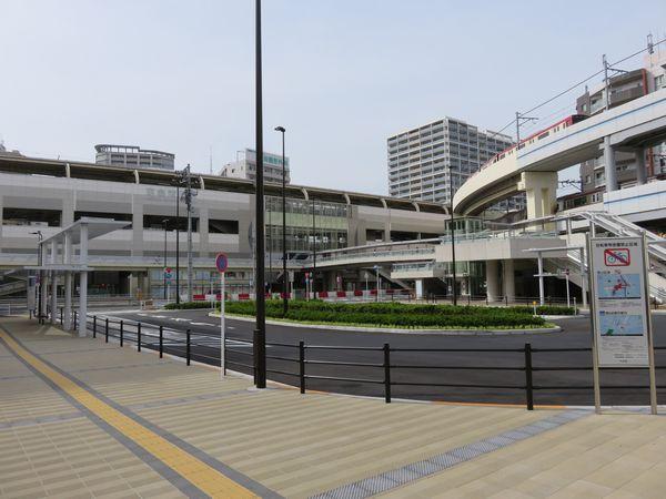今年3月31日より使用が開始された京急蒲田駅東口駅前広場