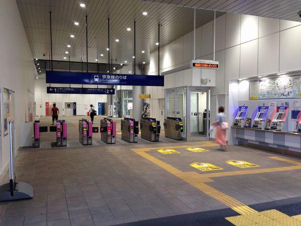 2015年6月に使用を開始した雑色駅の新改札口