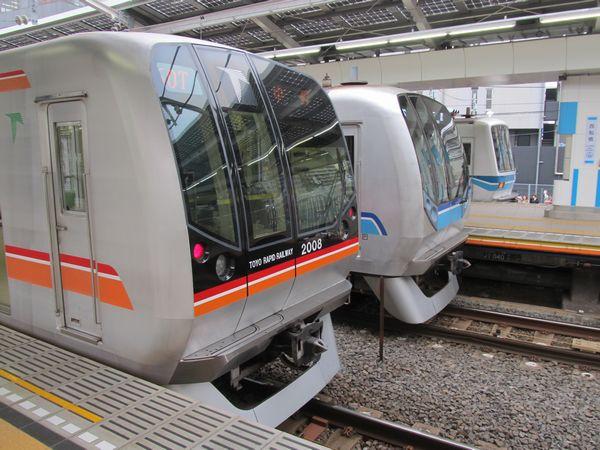 東京メトロ05系・東葉高速鉄道2000系