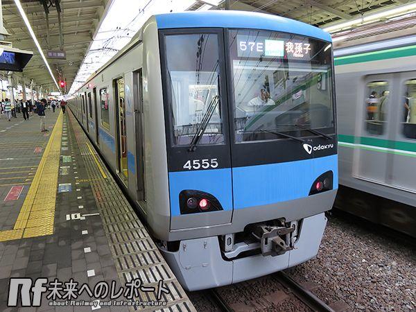 今年3月からJR・小田急車の直通運転が拡大された東京メトロ千代田線。小田急4000形の我孫子行きやE233系2000番台の本厚木行きなどが見られるようになった。