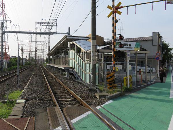 浜川崎方面行きホーム