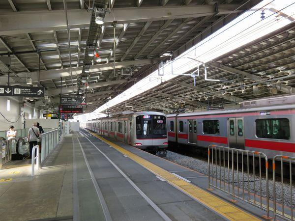 東急東横線祐天寺駅