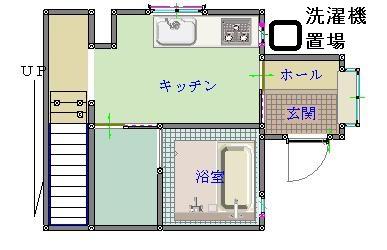 西平貸家1階