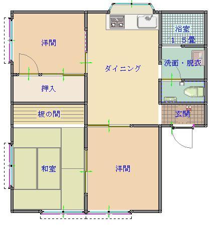 グリーンハウス石田2-L