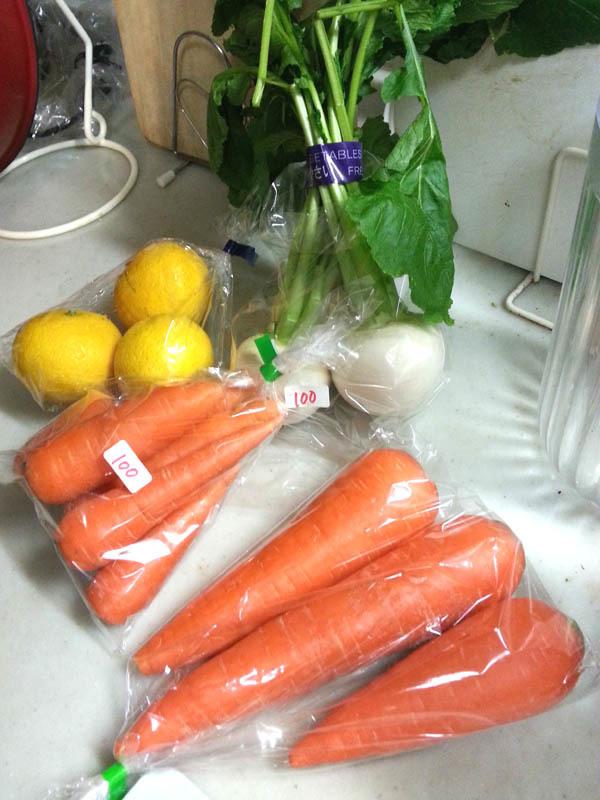 100えん野菜