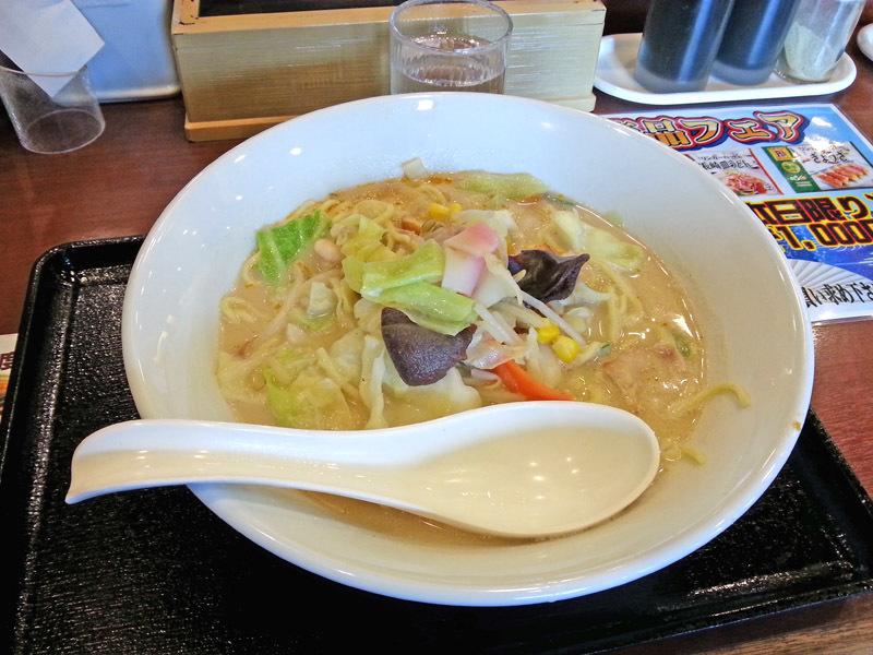 長崎ちゃんぽん麺二倍