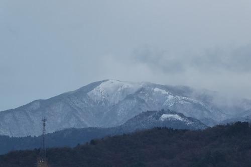 冠雪の床尾山