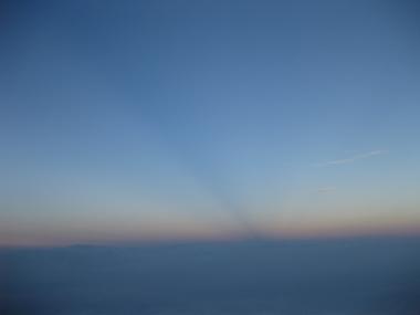 富士山雲海上3000m1