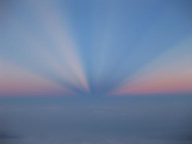 富士山雲海上3000m2