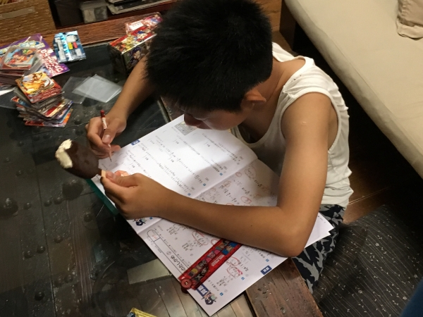 160720-夏休みの宿題