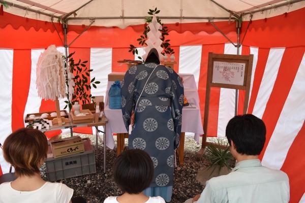 160727-地鎮祭-御厩野建築家の家