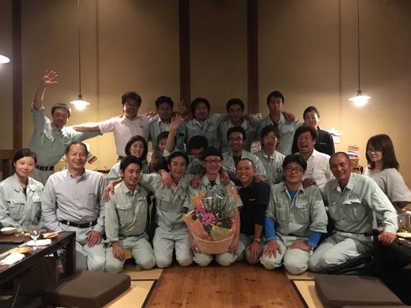 161007-タキハナさん壮行会