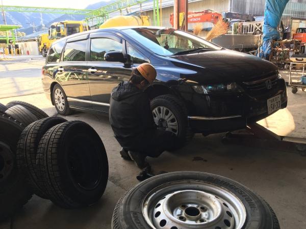 161123-タイヤ交換