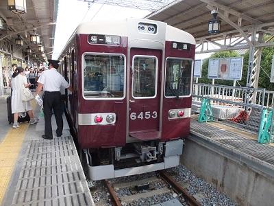 阪急6300系6453