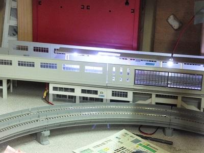 駅照明工事 4
