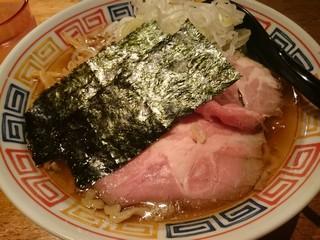 s麺ハウスこもれ美の醤油ラーメン (1)