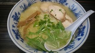 s浦咲で焼あご鶏白湯3