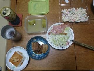 s初日の夕飯