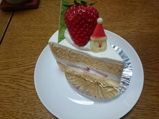 sスイーツスイート福田でクリスマスケーキ