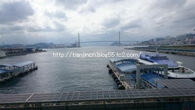 釜山港国際旅客ターミナル8