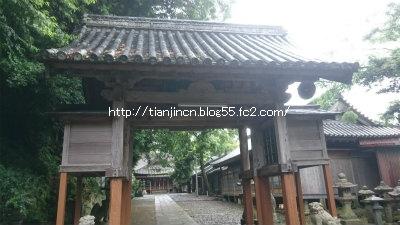 厳原八幡宮神社4