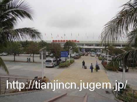 海南島三亜 路線バスに乗って三亜鳳凰国際空港へ5