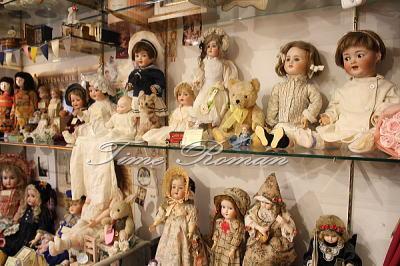 ドイツ人形コーナー
