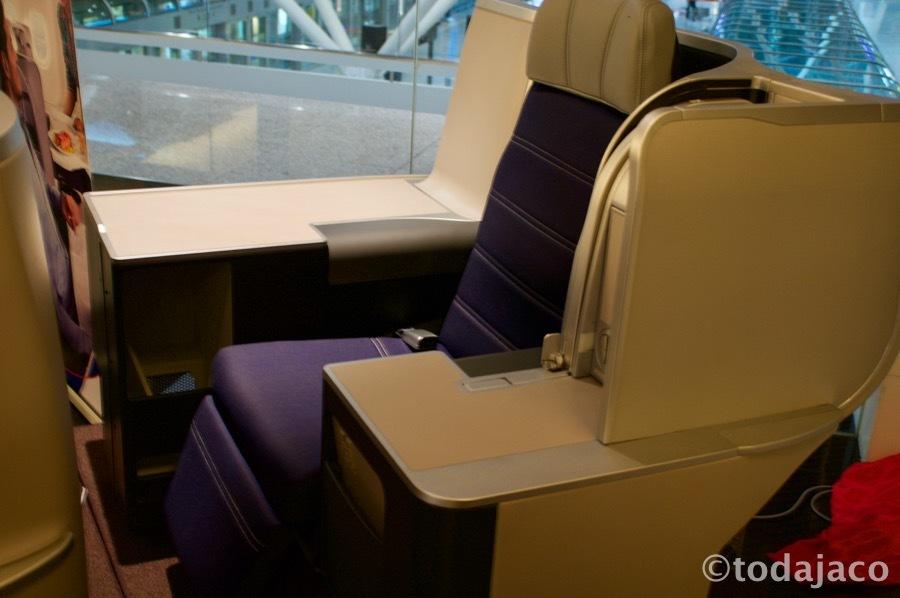 A330新ビジネスクラスのモックその2