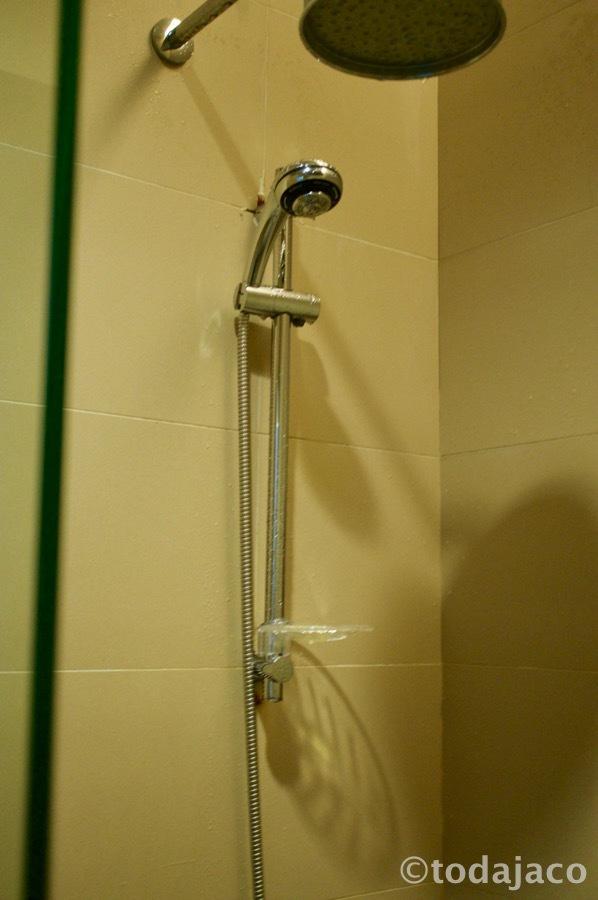 この辺でシャワーを浴びたりもする