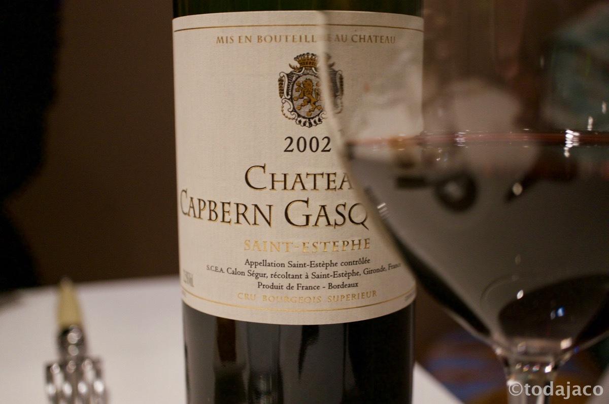Chateau Capbern Gasqu 2002