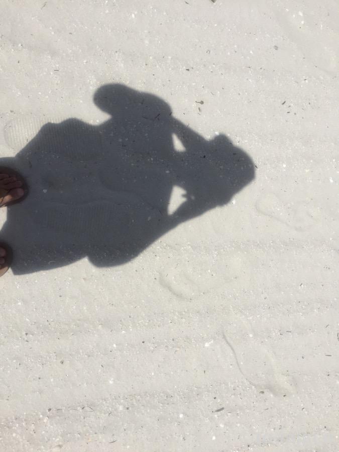 ホワイトサンドビーチ!