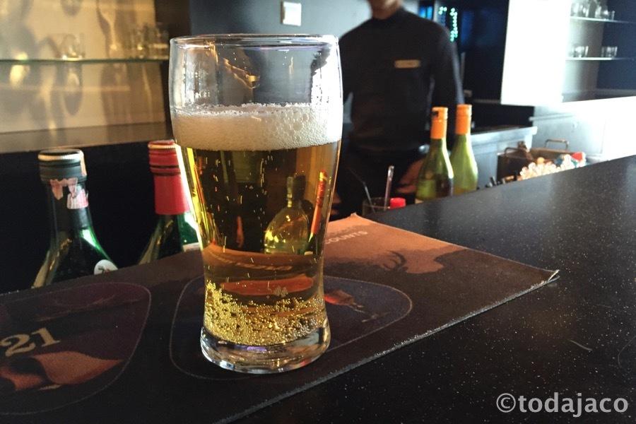 早速ビール・・・なんだけど